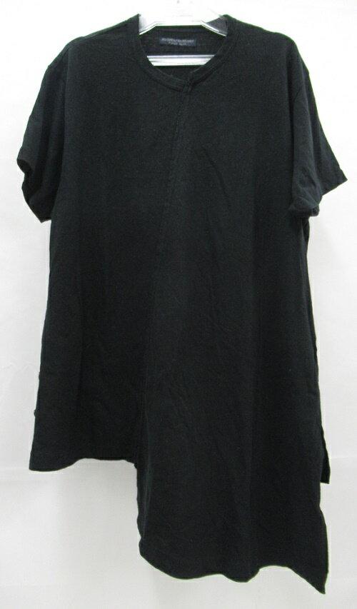 トップス, Tシャツ・カットソー Yohji Yamamoto 19SSREGULATION MEN HH-T56-070 TDiagonal Switch Short Sleeve SIZE:3