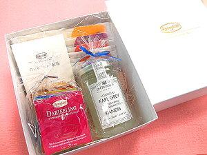 紅茶 ギフト【ロンネフェルト】ティーベロップ12種とジョイ オブ ティー5種&キャンディス