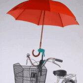【スマホ限定!エントリーでポイント10倍!】【あす楽】ユナイト どこでもさすべえ 自転車用傘スタンド