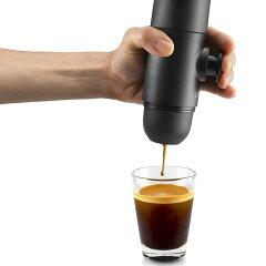WACACO(ワカコ)ネスプレッソ(nespresso)カプセル用エスプレッソメーカーミニプレッソ(minipresso)[空カプセル付きでコーヒー粉も利用可能]