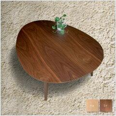 | Tamago | 110×80cm こたつ ローテーブル メープル ウォールナット 座卓・ちゃぶ台タイ...