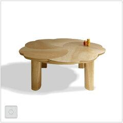 | PETAL | 直径90cm こたつ サクラ突板 ナチュラル色 人気の座卓・ちゃぶ台タイプのこたつ...