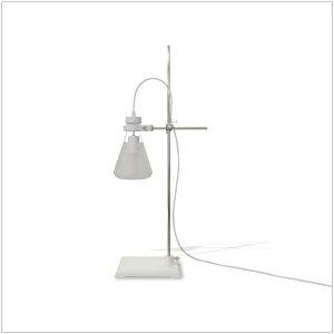 | FLASK | H78cm テーブルライト ガラス スチール abode* デザイナーズ家具 ・フラスコ ...