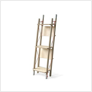 | LADDER | W37.2cm ラック プライウッド ナチュラル abode* デザイナーズ家具 ・LADDER ...