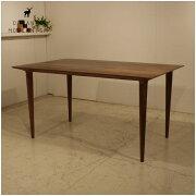 ダイニング テーブル センチュリー デザイン オーガニックレトロモダンスタイル・ウォールナット モダンリビング