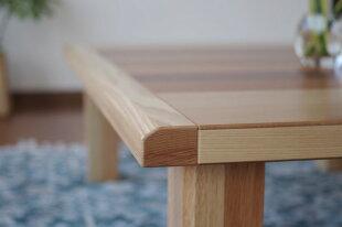 こたつレイラ150座卓タイプ・北欧テイストのミッドセンチュリーモダンデザイン・洋室にも和室にも合う炬燵・折れ脚ローテーブルコタツ家具調・幅150cmこたつテーブル