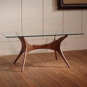 オーガニック テーブル センチュリー デザイン オーガニックレトロモダンスタイル・ウォールナット ダイニング モダンリビング