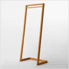 | COMISEN | H150cm ハンガーラック ナラ無垢材 ナチュラル miyakonjo product デザイナー...