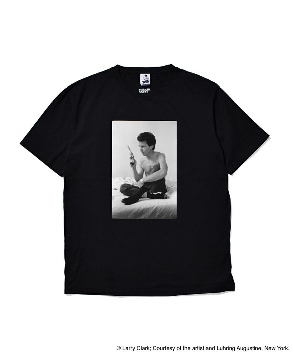 トップス, Tシャツ・カットソー  MINEDENIM LARRY CLARK TULSA STANDARD CREW NECK T-SHIRTS (TYPE-1) BLACK STIELO-WM-LC-ST01 WACKO MARIA T