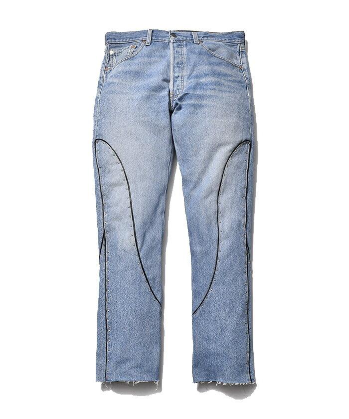 メンズファッション, ズボン・パンツ  MINEDENIM OLD PARK Rebuild Western Jeans USD MND-21AWOP004