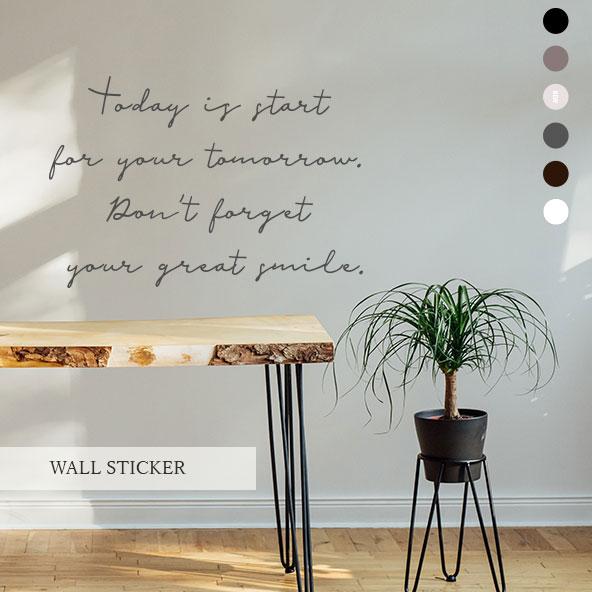 【新作】 ウォールステッカー 【送料無料】 ウォールステッカー 英字 FREETALKING5 転写 英文 壁紙 インテリアシール 英語 北欧 モノトーン カフェ風 黒板 ウオールステッカー インテリア wallsticker おしゃれ 文字