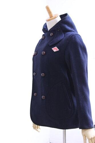 DANTON(ダントン)ウールモッサ WOOL MOSSER フーデッドダブルジャケット #JD-8245 WOM 3color【L...