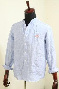 【2020'春夏】DANTON(ダントン)LINEN CLOTH バンドカラーシャツ #JD-3607 KLS 2020'S/S【Men's】