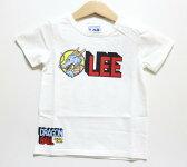 Lee(リー)×ドラゴンボールLeeロゴTシャツ【ホワイト】【9824503】【80-120cm】