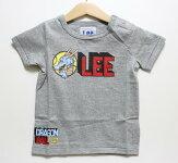 Lee(リー)×ドラゴンボールLeeロゴTシャツ【グレー】【9824503】【80-120cm】