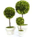 観葉植物|インテリア|トピアリー|人工|ボックスウッドトピアリー|ボックスウッド トピアリー|プ...