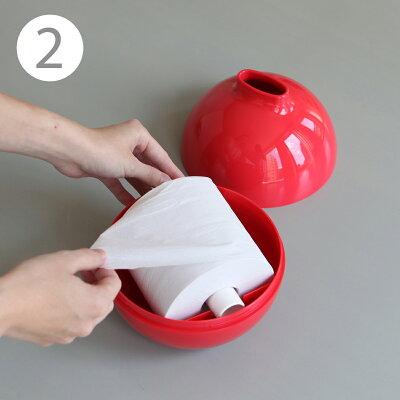 トイレットペーパー取り付け方2
