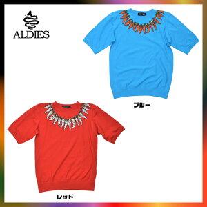 【レビューを書いて100円OFF】ALDIES(アールディーズ)Pepper Chain Sweat ペッパーチェーンスウェット スエット カットソー Tシャツ