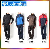 columbia コロンビア レインウェア シンプソンサンクチュアリレインスーツ PM0124 レイン ジャケット メンズ