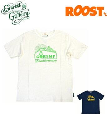 GOHEMP ゴーヘンプ Tシャツ 25TH LOGO Mt S/SL TEE 25周年 GHC4500LGM