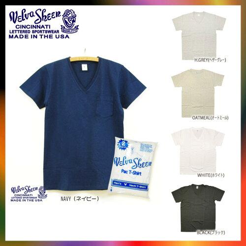 Velva Sheen ベルバシーン Pack T-Shirt w/p V-Neck 2pac V-Neck S/S Tee ベルバシーン 2パッ...
