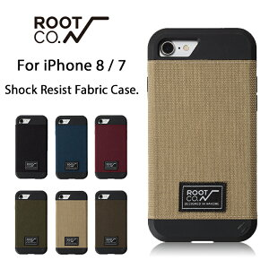 b08a586855 【ROOT CO.】iPhone8 iPhone7 ケース GRAVITY Shock Resist Fabric Case.【 アイフォン