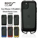 [iPhone11ProMAX専用]ROOT CO. Gravity Shock Resist Case +Hold.