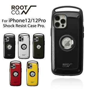 [iPhone12/12Pro専用]ROOTCO.GRAVITYShockResistCasePro.