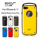 【ROOT CO.】iPhone8 iPhone7 ケース GRAVITY Shock Resist Case Pro.【 アイフォン8 アイフォ……