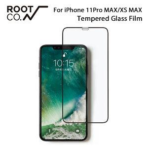 [iPhoneXSMax専用]ROOTCO.GRAVITYTemperedGlassFilm(ブラック)