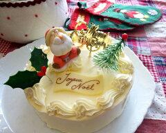 クリスマスケーキ限定レトロなバタークリームケーキ5号サイズ