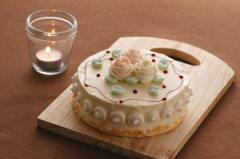 昔懐かしのレトロな味わい・バタークリームケーキ (ホワイトデー)(母の日)(バースデーケー...