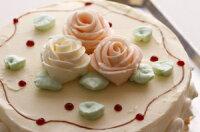 昔懐かしのレトロな味わい・バタークリームケーキ(ホワイトデー)(母の日)(バースデーケーキ)(クリスマス)