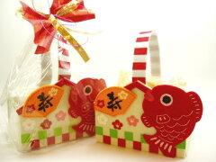 寿絵馬のクッキー【迎春ギフト】お年賀 お正月