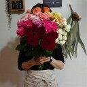 数量限定!!産地直送! 新鮮なバラご自宅用花束 30本300
