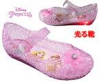 光る靴ディズニ−プリンセスDisneyzoneディズニープリンセスガラスの靴シンデレラアリエルラプンツェルベルサンダルキッズスニーカーキッズシューズ子供靴靴ディズニーサンダル7357