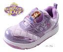 【ちいさなプリンセスソフィア】【ディズニー 靴】【ソフィア】【ディズニー プリンセス】【Disneyzone】【ディズニー キッズ】 ディズニー 靴 キッズスニーカー パープル ジュニア キッズ 子供靴 女の子 7039