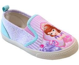 ディズニ− プリンセス ソフィア スリッポン キッズスニーカー キッズシューズ 子供靴 靴 ディズニー靴 7544