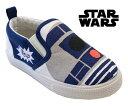 【ディズニー】【スター・ウォーズ】 Disney Star Wars 【Disneyzone】 【ディズニー 靴】 男の子 スリッポンスニーカー 靴 R2-D2 R2D2 キッズスニーカー 子供靴 1030