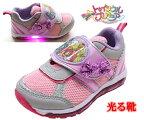 スタートゥインクルプリキュア光る靴プリキュアプリキュア靴ピンク子供靴キッズスニーカー女の子7505キッズキッズシューズキャラクターシューズスタートゥインクルプリキュア
