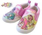スタートゥインクルプリキュアプリキュア靴プリキュア7520スリッポンキッズスニーカーピンクキッズシューズキッズ子供靴女の子キャラクターシューズ