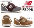 【送料無料】【ニューバランス】 子供靴 マジック キッズスニーカー ベビー 子供靴 履きやすい靴 NB ニューバランス FS996 GWI GYI