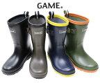 送料無料GAMEレインブーツ長靴レインシューズ通学学校遠足完全防水キッズシューズジュニア19〜24cmまであり1111