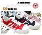 adimouseレディーススニーカーローカット10カラー靴9939プチプライスロープライス通学学校キャンバスアディマウス軽量