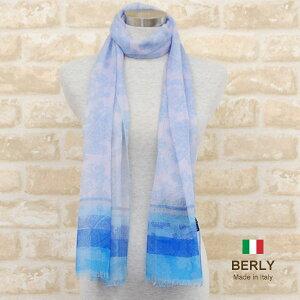 ストール春夏イタリア製レディース・メンズ・ユニセックスaliseta-senegal-blue・ALISETAアリセタ【マフラー】【スカーフ】【stole】【women】【men】11000