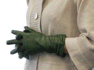イタリア製 手袋 セミロングシャーリングレザーグローブ <ウールライナー>1106w  LEPRE C...