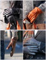 LEPREイタリア製メンズレザーグローブ/革手袋カシミヤライナー豊富な5サイズ10カラーS,M,L,LL7.5サイズ〜9.5サイズ定番スリーラインギフト対応楽天ランキング常連LEPREレプレ15000