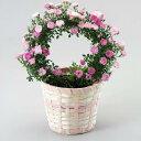 【予約商品】母の日にバラを贈りましょう♪*.幸せを呼ぶリング仕立て.*☆真珠貝 バラ苗ギフト...