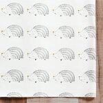 ハリネズミプリント生地【10cm単位の切売り】ARTGALLERYFABRICS/PricklyStroll/USAコットン(AGF-CAP-PA-1409)
