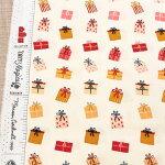 プレゼントボックス生地【10cm単位の切売り】ARTGALLERYFABRICS/GiftofGiving/USAコットン(AGF-CMA-25126)